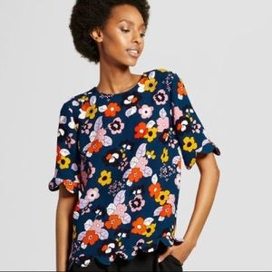 NWT Victoria Beckham for Target blouse